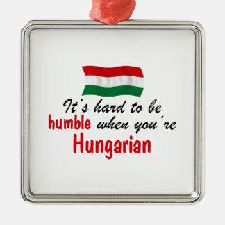 Humble Hungarian Metal Ornament