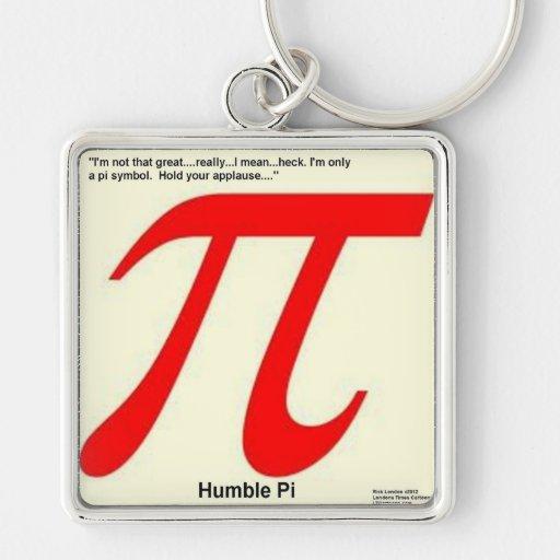 Humble Pi R Square Funny Key Chains