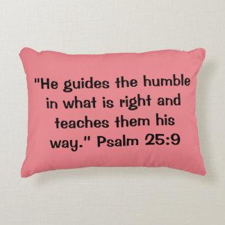 """Humble"" Scripture Accent Pillow"