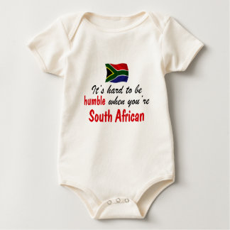 Humble South African Baby Bodysuit