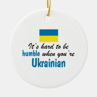Humble Ukrainian Ceramic Ornament