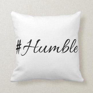 Humble vol. 1.0 throw pillow