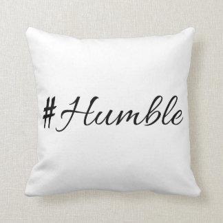 Humble vol 1.0 throw pillow