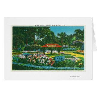 Humboldt Park Floral Emblem View Card