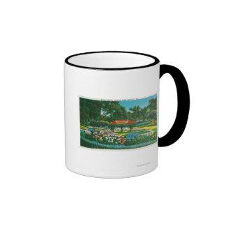 Humboldt Park Floral Emblem View Coffee Mug