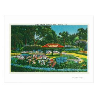 Humboldt Park Floral Emblem View Postcards