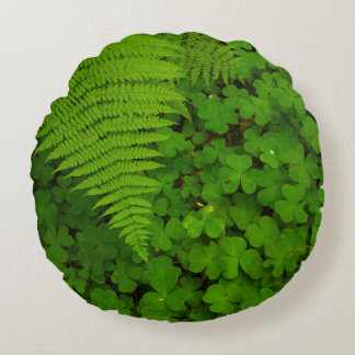 Humboldt Redwoods State Park Round Pillow