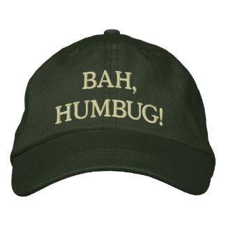 Humbug! Embroidered Hat