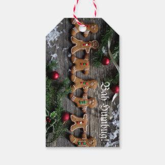 Humbug Gingerbread Gift Tags