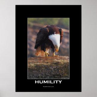 HUMILITY Bald Eagle Motivational Poster