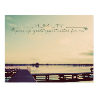 HUMILITY Opens Up Postcard