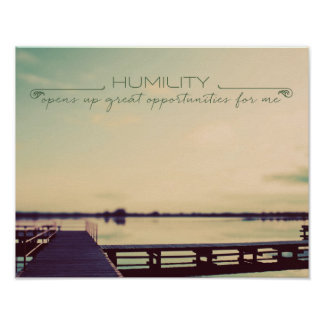 HUMILITY Opens Up Poster