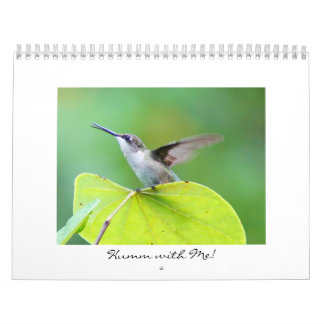 Humm with Me! Calendars