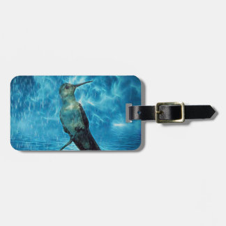 Hummer and the Hurricane Luggage Tag