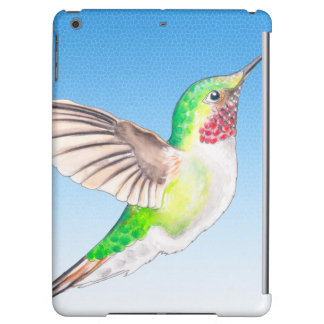 Hummer Blue Glass Cover For iPad Air
