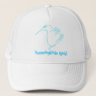 Hummer, Hummingbirds Rock! Trucker Hat