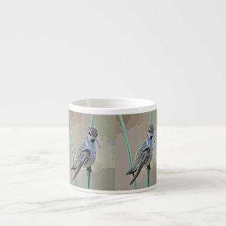 Hummer in Cartoon Espresso Mug