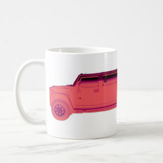 hummer limo coffee mug