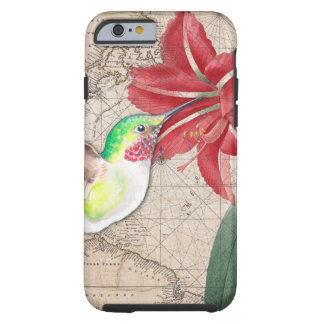 Hummer Map ammaryllis II Tough iPhone 6 Case