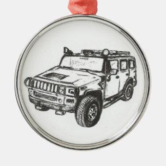 Hummer Truck Custom Ornament