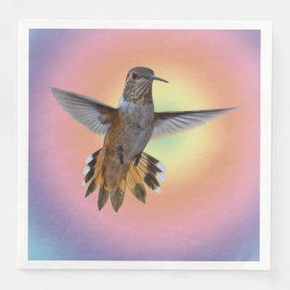 HUMMIMNGBIRD PAPER DINNER NAPKIN