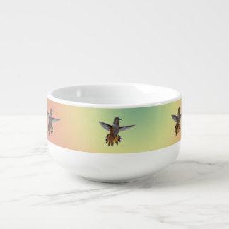 HUMMIMNGBIRD SOUP MUG