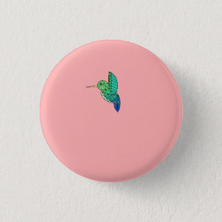 Humming bird button