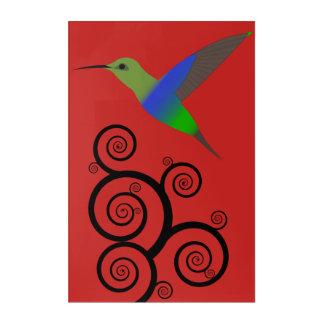 Humming Bird Canvas Art