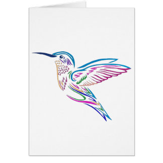 Humming Bird Card