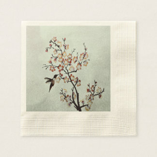humming-bird disposable napkins