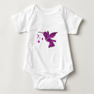 Humming bird Image Baby Bodysuit