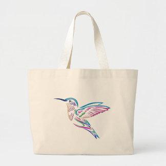 Humming Bird Large Tote Bag