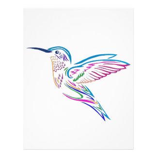 Humming Bird Letterhead