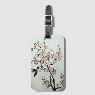 humming-bird luggage tag