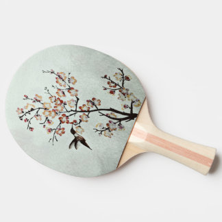 humming-bird ping pong paddle