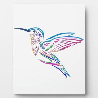 Humming Bird Plaque