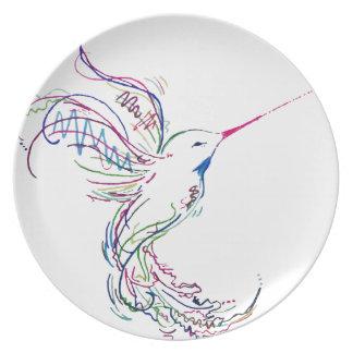 Humming Bird Plate