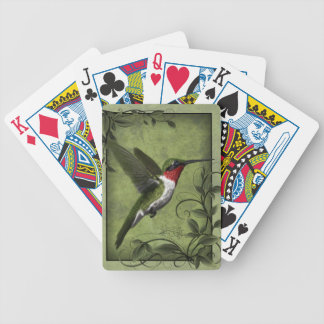 Humming Bird Playing Cards