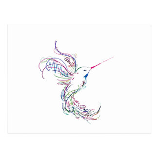 Humming Bird Postcard