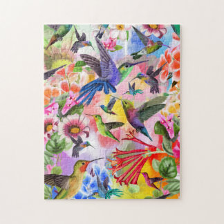 Humming Birds Jigsaw Puzzle