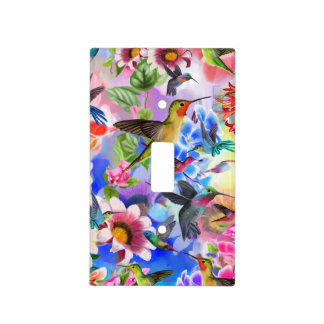 Humming Birds Light Switch Cover
