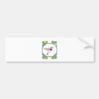 Hummingbird 1 bumper sticker