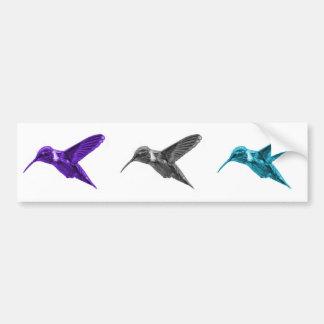 Hummingbird 2054 bumper sticker