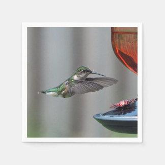 Hummingbird 227 paper napkin