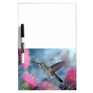 Hummingbird-6 Dry Erase Board Message Board