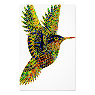 Hummingbird 7b stationery
