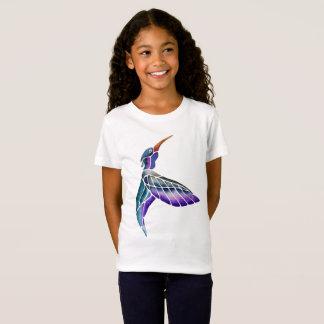 Hummingbird Abstract Watercolor T-Shirt