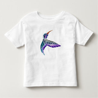 Hummingbird Abstract Watercolor Toddler T-shirt