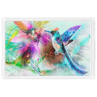 Hummingbird Acrylic Tray