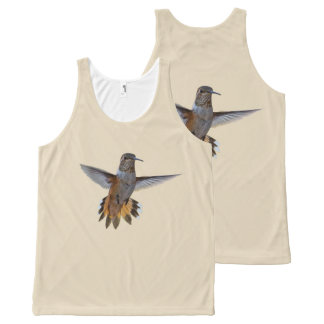 HUMMINGBIRD All-Over-Print TANK TOP